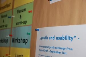 """""""youth and usability"""" – Internationale Sommerwerkstatt 2013/International Summerworkshop 2013: START!"""