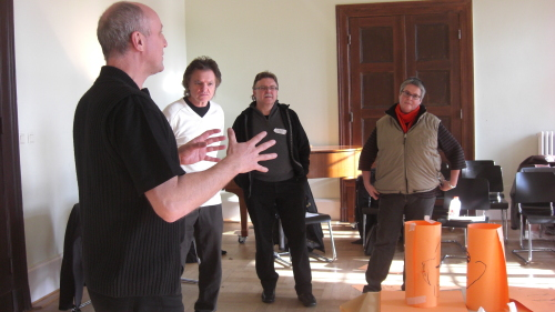 Rainer Buhland im playing-arts-Workshop