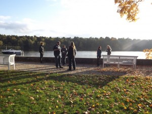 Mini-LARP-Pause in Herbststimmung