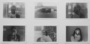 Fotoserie von Antonie als ein Beispiel aus der Schwarz-Weiß-Fotografie-Ausstellung