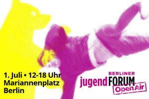 Berliner jugendFORUM mischt den Wahlkampf auf
