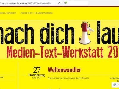 Mach-dich-laut-Blog