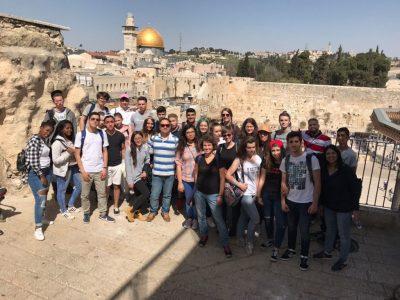 Austausch von Jugendlichen mit Holon / Hinbesuch in Israel