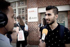 """""""…man muss für Themen wirklich brennen…"""" – Medien machen in Berlin"""