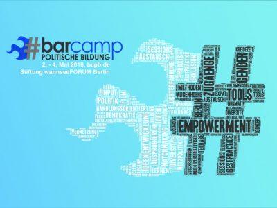 Jetzt anmelden: BarCamp politische Bildung vom 2. - 4.Mai 2018 im wannseeFORUM