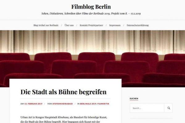 Filmblog zur Berlinale 2019