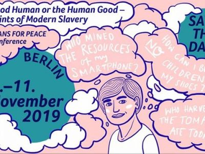 "International youth conference ""The Good Human or the Human Good – Footprints of Modern Slavery"""