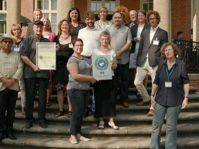 Verleihung des Qualitätssiegel des Europarates für Jugendzentren an die Stiftung wannseeFORUM