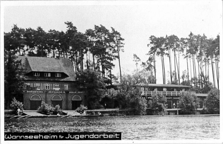 Camp of Wannsee Jugendleiterschule 1947-51, Bismakrstr