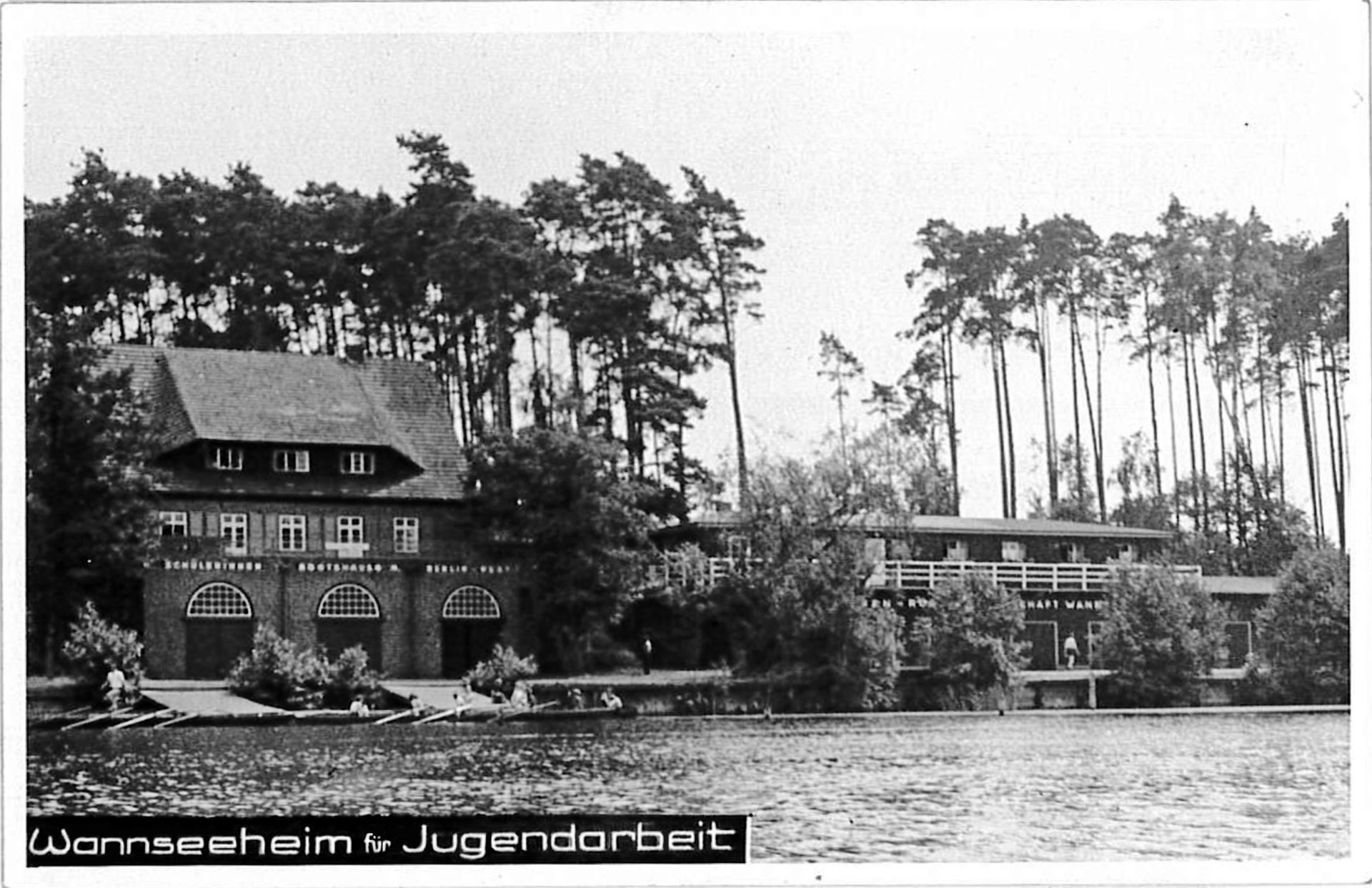 Camp of Wannsee Jugendleiterschule 1947-51, Bismakrstr