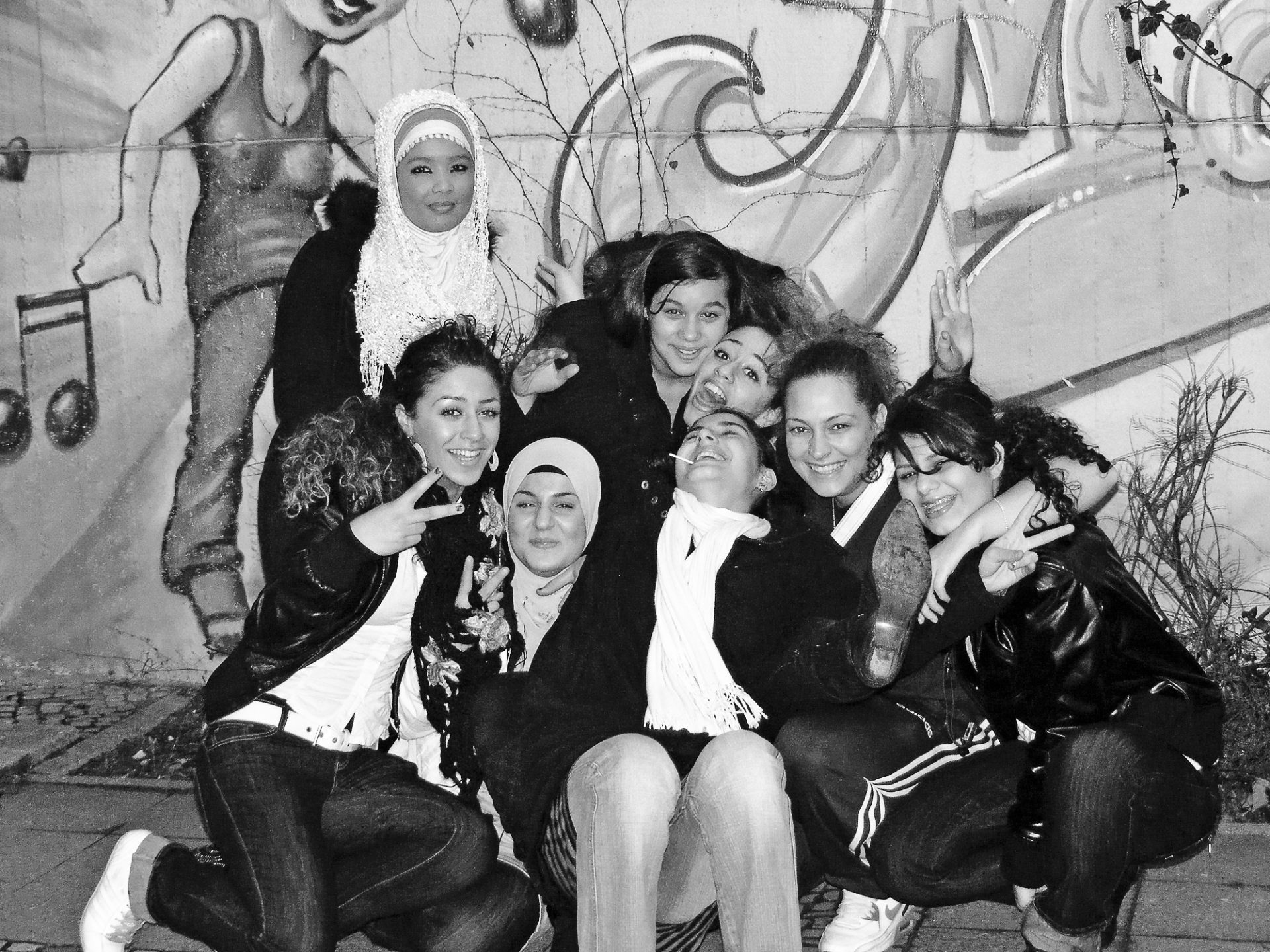 Mädchengruppe 2009