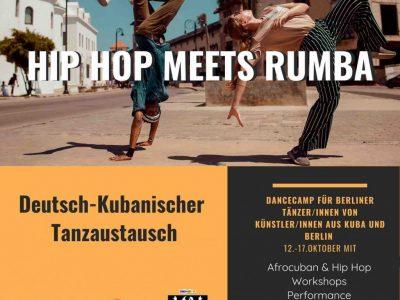 """""""Hip Hop meets Rumba"""" - Deutsch-Kubanischer Tanzaustausch"""
