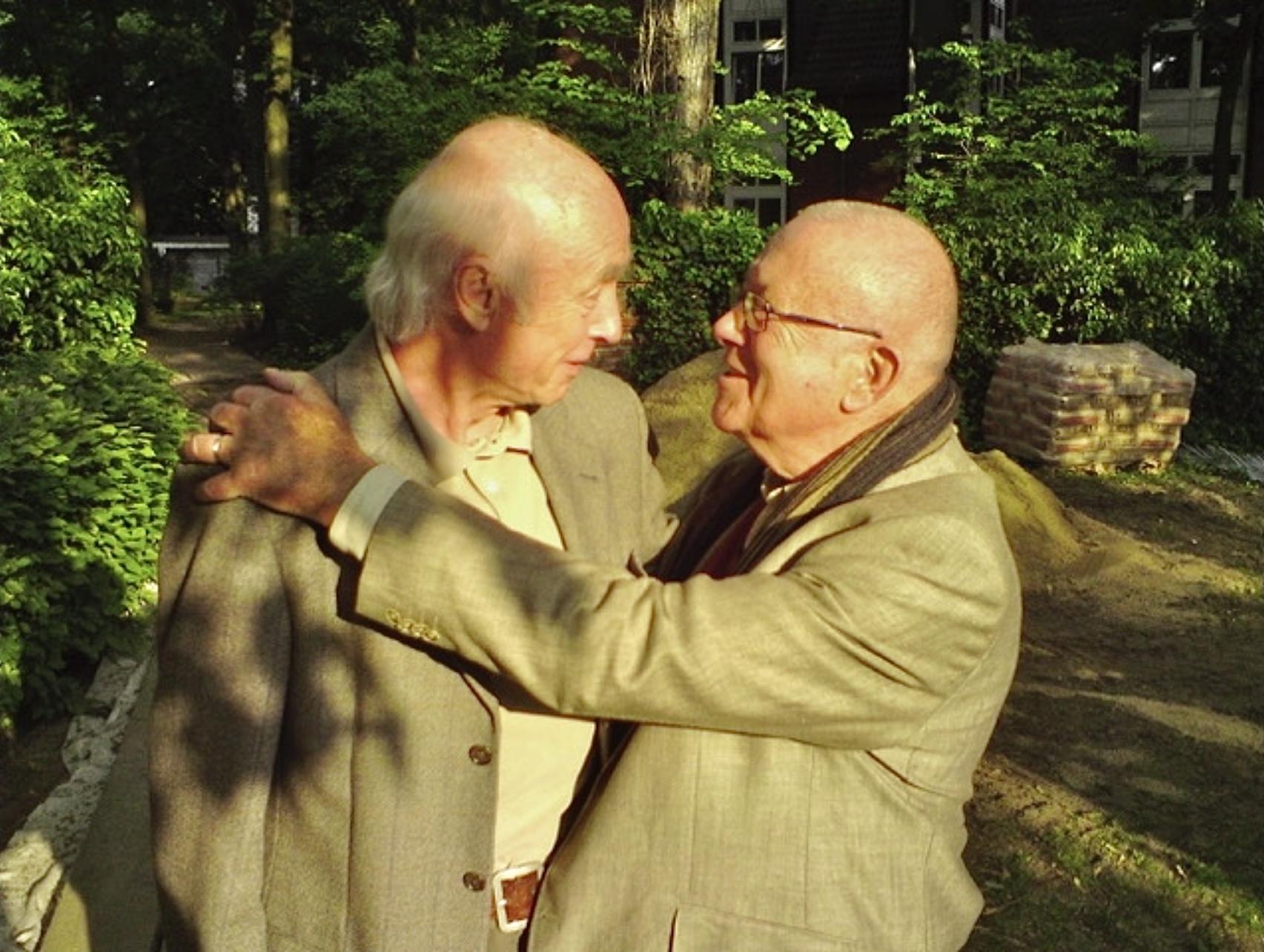 Peter Ulrich mit C. Wolfgang Müller 2009