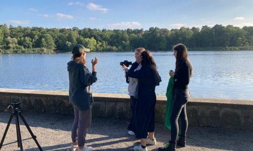 """""""3-2-1-Action!! - Filmseminar mit der Königin-Luise-Stiftung"""